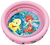 Smoby SMOB067268 - Schwimmbad Princess 2-Rings, 120 x 25 cm