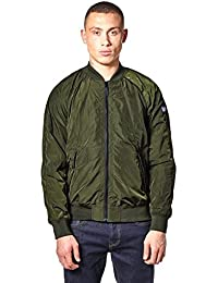 Weekend Offender Men's Bradbury Bomber Style Jacket Olive