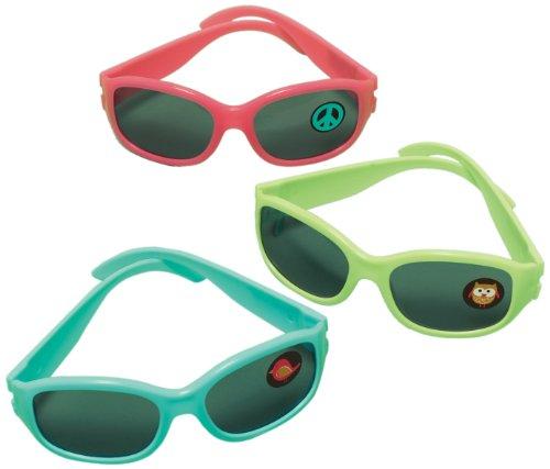 amscan Partybrille, Hippie Chick, 10Stück Disco Chick