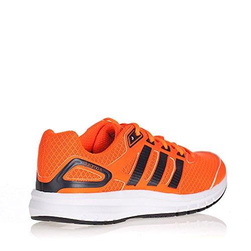 Adidas Duramo 6 Scarpe Da Corsa - SS15 - 45.3 Rosso-nero