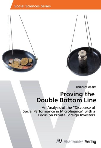 Proving the   Double Bottom Line: An Analysis of the