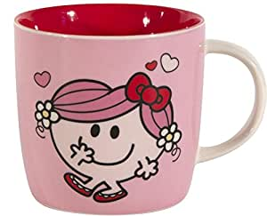Mug rose Madame Calin en céramique