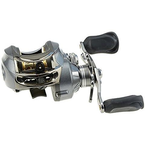 Docooler Carrete de Pesca 9 + 1BB 6,3: 1 Cebo de Giro de Fundición de Aluminio