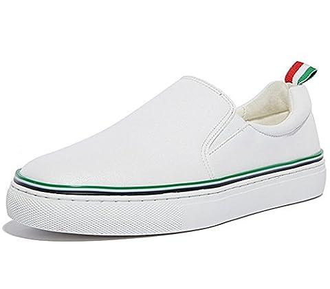 Ladola Womens Flatform Soft-Ground Solid Backpacking Green Urethane Walking Shoes - 4.5 UK