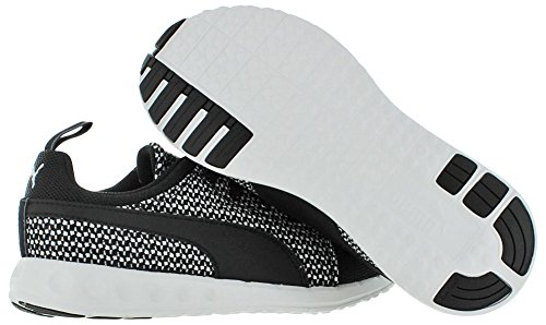 Puma Carson Runner Knit Wn's Synthétique Chaussure de Course Black-Star White