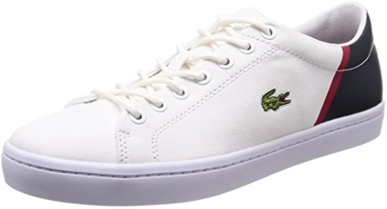 Lacoste Sneaker in übergrößen Weiß 7 35CAM0100042 Große Herrenschuhe