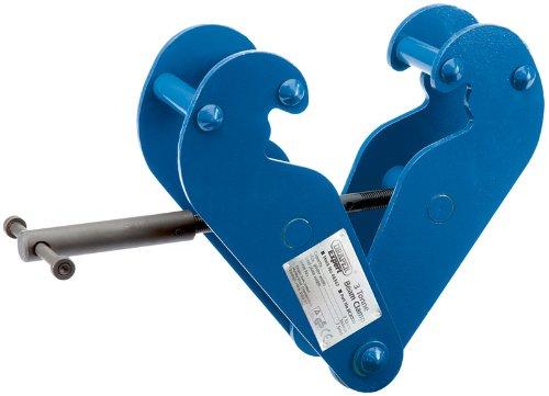 EXPERT Strahlenwinkel Klemme 3 TONNE - Profiqualität, für halb-dauerhafte Befestigung an RSJ's Stahl, als Anschlagpunkt für Flaschenzüge, hisst und zu act Straffende Angelzubehör. Auch für das Anheben und Übertragung von beams Stahl und als verwendet das Ziehen an der Klemme. Test mit Zertifikat. Lieferung im Karton.