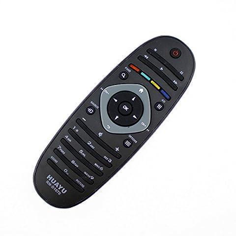 Télécommande de rechange universel avec tous les appareils Philips LED LCD TV kompla compatible–frustfreie Télécommande