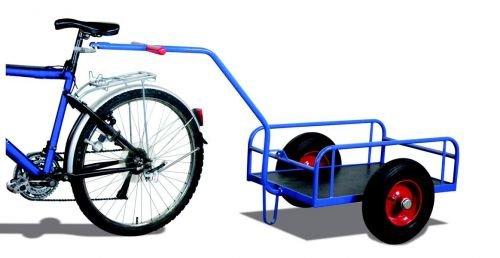 Preisvergleich Produktbild Fahrradanhänger ohne Bordwand Traglast (kg): 400 Ladefläche: 1130 x 535 mm RAL 5010 Enzianblau