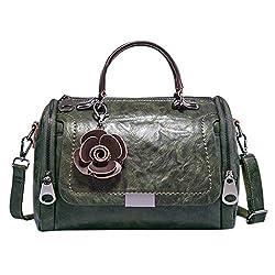 YSFWL Damen Handtasche Designer Clutch FüR Kuriertasche Cognac Bag Aus SchöNe Bunte Mit Kette Vintage Mini Damentasche Wildleder Gross Die Getasche (Grün)