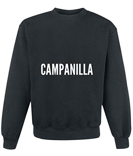 Felpa Campanilla city Black