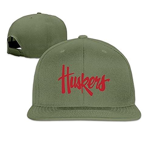 2016 Nebraska Cornhuskers Sport Logo Baseball Cap Flat Brim Hip-hop Hat