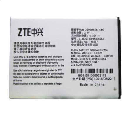 MLTrade - Bateria Orginal ZTE Li3822T43P3h675053 para ZTE A430,Blade Q ,Telstra 4GX Buzz, Bulk -
