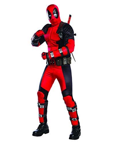 Horror-Shop Deadpool Collectors Edition Kostüm für Fasching Standard (Collectors Edition Kostüm)