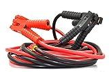 XINCOL A5 Strapazierfähiges Schwerlast-Starthilfekabel - 2500 A - 100%-Kupferdraht-Starthilfekabel für LKWs - wärmeisoliert - mit Tasche - 6 M