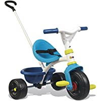 Smoby 740323 BE FUN BLUE TRICYCLE Bike Trike Push Along Toy