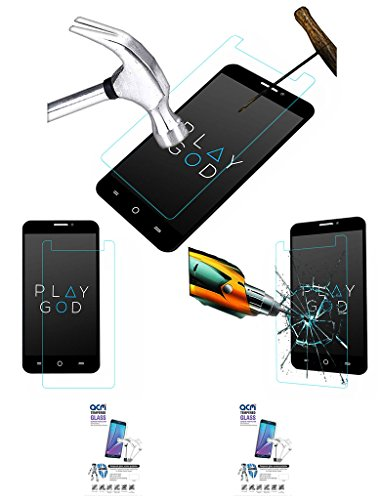 Acm Pack Of 2 Tempered Glass Screenguard For Micromax Yu Yureka A05510 Mobile Screen Guard Scratch Protector  available at amazon for Rs.379