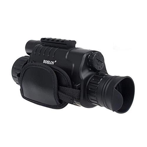 """Boblov 5x40 infrarrojo 8GB Monocular 1.44\"""" Zoom Vision Nocturna Binoculares de Alcanc Monocular De Visión Nocturna Hacer Foto Video"""