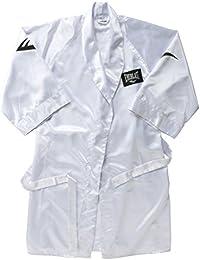 Everlast 4387WHM - Bata de boxeador unisex, color blanco, talla M
