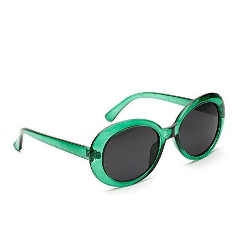 Verdickte Brille Vintage Retro Mode Katzenauge Brille Runde Verspiegelt Sonnenbrille FüR Herren Und Damen Round Frame Uv-Brille Sonnenbrillen Reisen Golf Party Und Freizeit