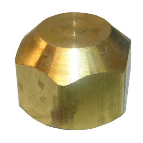 LASCO 17-4057 5/8-Inch Brass Flare Cap by LASCO -