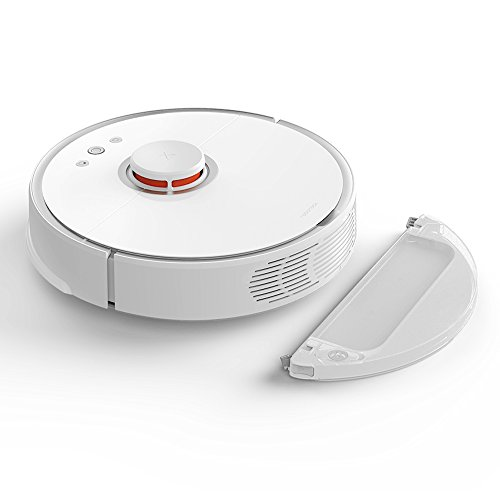 Roborock Vacuum Cleaner S50,Ultra Stronger Suction Self-Docking Self-Charging Robotic Vacuum Cleaner LDS Technology 2-in-1 mopping and sweeping planned region cleaning intelligently
