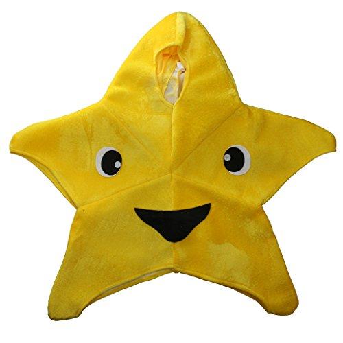 Sharplace Lustige Kinder Halloween Stern Kostüm in Flanell Kinderkleidung mit Kapuze (Halloween-spiele Lustige Kindergarten Für)