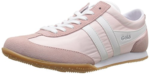 Gola Wasp, Baskets Basses femme Rose - Pink (Crystal Pink/White)