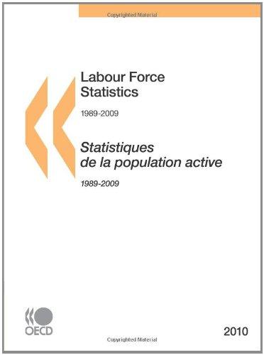 Labour Force Statistics 2010: Edition 2010 par OECD Organisation for Economic Co-operation and Development