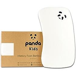 Panda Kids Luxury Memory Foam Bamboo Pillow (Toddler)