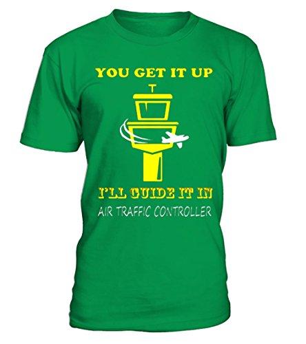 teezily Official:Best Gift For Air Traffic Control Airport ATC Shirt Men T-Shirt