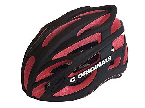 200 g Ultra Light Plus - C Originals M380 Fahrradhelm RED / MATT BLACK