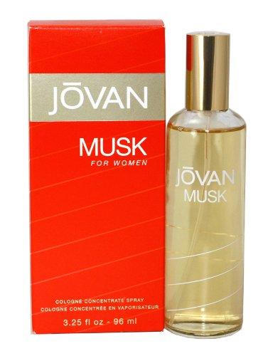 Jovan Musk pour Femme en vaporisateur 96 ml Conc entree, 1er Pack (1 x 96 ml)
