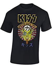 Kiss – Hotter Than Hell T-shirt Homme