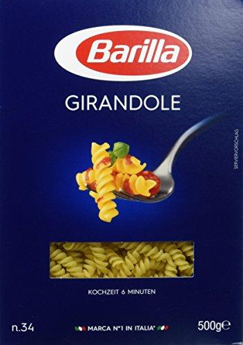 Barilla Hartweizen Pasta Girandole n. 34 – 6er Pack (6x500g)