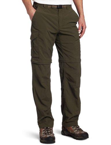 Columbia Herren Silber Ridge 91,4cm Convertible Pant, Herren Jungen, Peat Moss (Kurze Wicking Mesh Athletic)