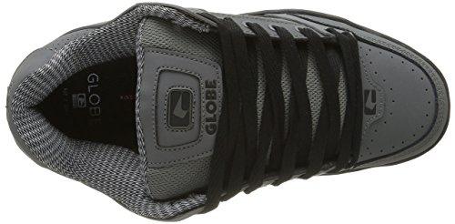 Globe Tilt, Sneaker Uomo Nero (Charcoal/black)