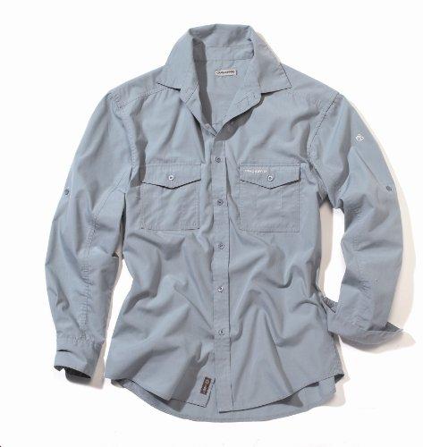 Craghoppers Men's Kiwi Chemise manches longues homme Gris bleuté