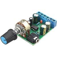haljia DC1.8–12V tda2822m amplificador 2canales estéreo Mini AUX de 3,5mm Audio Amp Junta Módulo