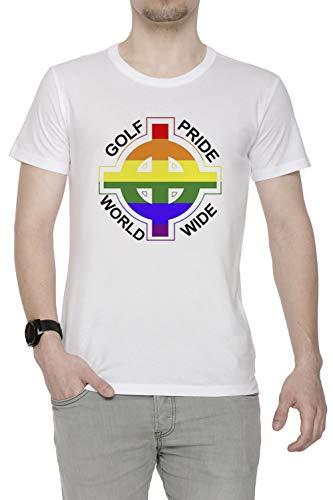 49468395d58df5 Odd Future - Golf Pride Uomo Girocollo T-Shirt Bianco Maniche Corte  Dimensioni M Men s