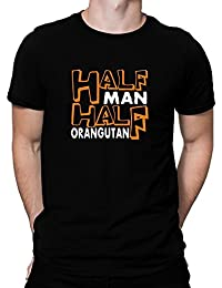 Teeburon HALF MAN , HALF Orangutan T-Shirt