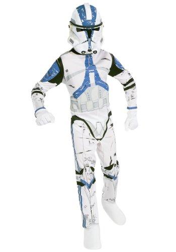 Wars Star Kostüm 501 - Kostüm Clone Trooper Star Wars 501st Legion für Kind