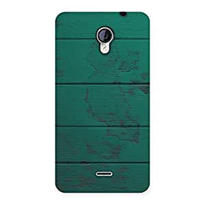 Cute Green Wood Texture Print Back Case Cover for Micromax Unite 2 A106