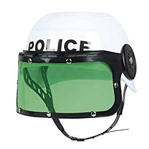 Boland 01391Disfraz de Casco de policía, niños, One Size