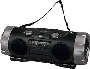 AEG SRP-4335CD Boombox Noir
