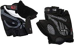 Ultrasport Bicycle Gloves, black, M