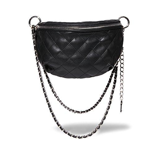 Steve Madden Damen BMANDIE, schwarz, Einheitsgröße (Madden Steve Handtaschen)