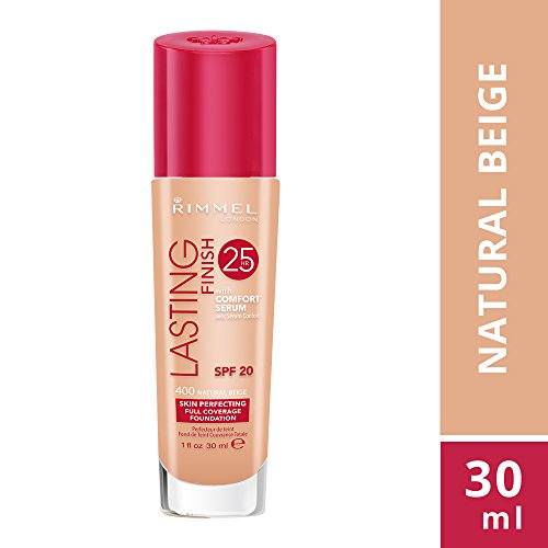Rimmel Lasting Finish 25 Hour Fondotinta, Natural Beige, 30ml