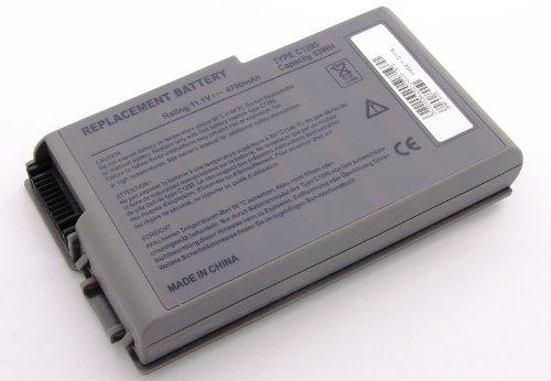 Akku kompatibel mit Dell Inspiron 500m, 505M, 510m, 600m, 600m PP05L, Latitude 500m PP05L, 600m PP05L, D500, D505, D505 PP10L, D505C, D510, D510 PP10L, D510 PP17L, D520, D520 PP17L D600 - M20 Mobile