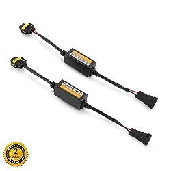 H8 H9 H11 LED Decoder Scheinwerfer LED Canbus Warning canceller Kondensator Fehler Lastwiderstand - Aus Twilight Garage Auto